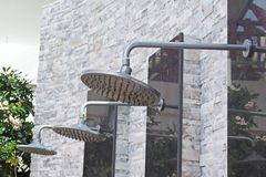Outdoor shower Royalty Free Stock Image
