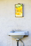 Outdoor sink Royalty Free Stock Photos