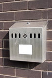 Outdoor Smokers Cigarette Bin Ashtray Stock Images