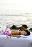 Outdoor Spa Therapie royalty-vrije stock fotografie