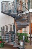 Outdoor spiral staircase Royalty Free Stock Images
