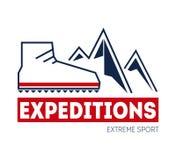 Outdoor sport adventure Stock Images