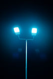 Outdoor sport court or stadium lights Royalty Free Stock Images