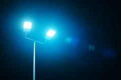Outdoor sport court or stadium lights Stock Photography