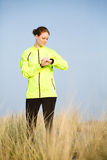 Outdoor Sports - Female Jogger Stock Photo