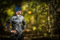 Outdoor Sportsman Runner royalty free stock photography