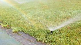 Outdoor sprinkler Royalty Free Stock Image