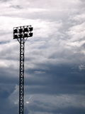 Outdoor stadium spotlights Stock Photo