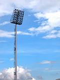 Outdoor stadium spotlights Royalty Free Stock Photography