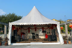 Outdoor Stage Stock Photo