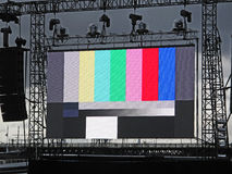Outdoor Stage Lighting Royalty Free Stock Photography