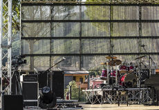 Outdoor stage Stock Photography