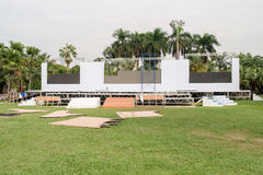 Outdoor stages. Stock Photography