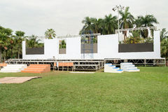 Outdoor stages. Royalty Free Stock Photos