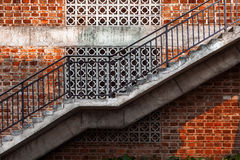Outdoor staircase Stock Image