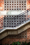 Outdoor staircase Royalty Free Stock Photos