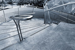Outdoor stairs Royalty Free Stock Photo