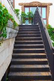 Outdoor stairs. Royalty Free Stock Image