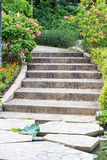 Outdoor stairs Stock Photography