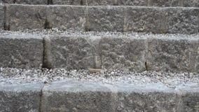 Outdoor stairway stock footage