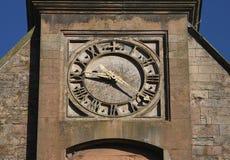 Outdoor Stone Clock Stock Photography