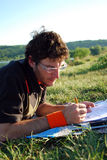 Outdoor study Stock Photography