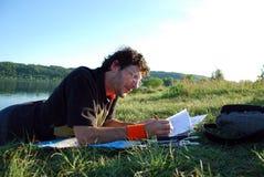 Outdoor study stock photos