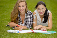 Outdoor study Royalty Free Stock Image