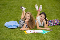 Outdoor study Stock Images