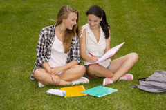 Outdoor study Stock Photos