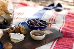 Outdoor Summer Beach Picnic Stock Photography