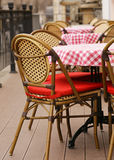 Outdoor summer cafe Royalty Free Stock Photo