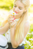 Outdoor summer portrait Royalty Free Stock Images