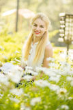 Outdoor summer portrait Royalty Free Stock Image