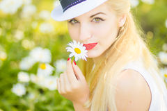 Outdoor summer portrait Royalty Free Stock Photos