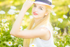 Outdoor summer portrait Stock Photo