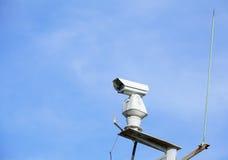 Outdoor surveillance camera Royalty Free Stock Photography