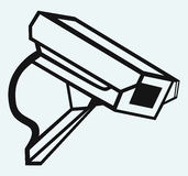 Outdoor surveillance camera Stock Photos