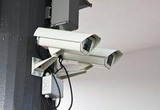 Outdoor surveillance cameras Stock Image
