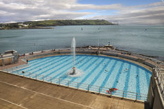 Outdoor Swimming Stock Images