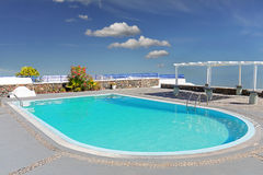Outdoor swimming pool Royalty Free Stock Photos