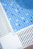 Outdoor swimming pool in summer royalty free stock photo