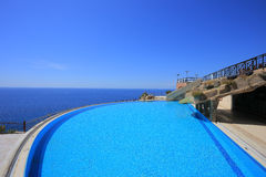 Outdoor swimming pool Stock Image