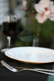 Outdoor Table Setting Stock Images