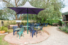 Outdoor Tea Area Royalty Free Stock Photo