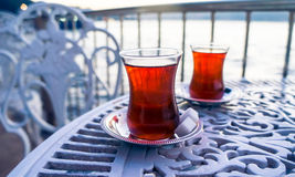 Outdoor tea Royalty Free Stock Photos