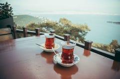 Outdoor tea Royalty Free Stock Photos