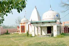 Outdoor temple in Indian Village. With Nice Environment Stock Image