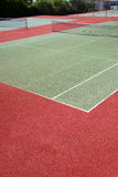 Outdoor a tennis court Royalty Free Stock Photo