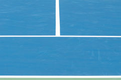 Outdoor tennis court Royalty Free Stock Images